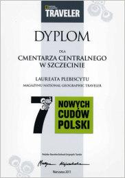 Cmentarz Centralny jednym z 7 nowych cudów Polski